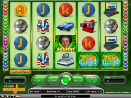 Play free The Funky 70's slot by NetEnt