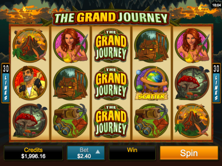 Play free The Grand Journey slot by Microgaming