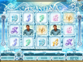 Play free The Lost Princess Anastasia slot by Microgaming
