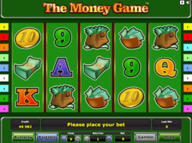 Play free The Money Game slot by Novomatic