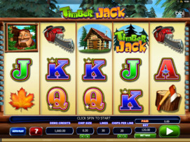 Play free Timber Jack slot by Microgaming