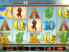 Play free Titans of the Sun: Theia slot by Microgaming