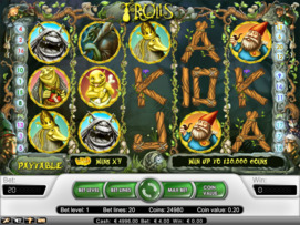 Play free Trolls slot by NetEnt