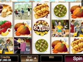 Play free Voila slot by Microgaming