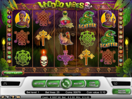 Play free Voodoo Vibes slot by NetEnt