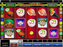Play free Wasabi-San slot by Microgaming