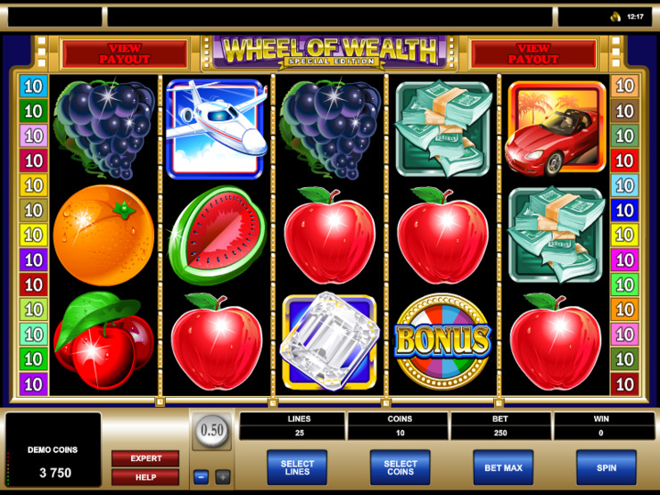 Play free Wheel of Wealth Special Edition slot by Microgaming