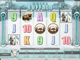 Play free White Buffalo slot by Microgaming