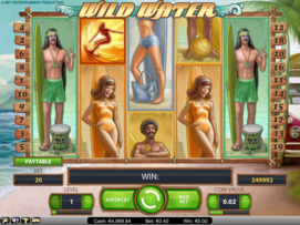 Play free Wild Water slot by NetEnt