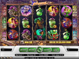 Play free Wild Witches slot by NetEnt