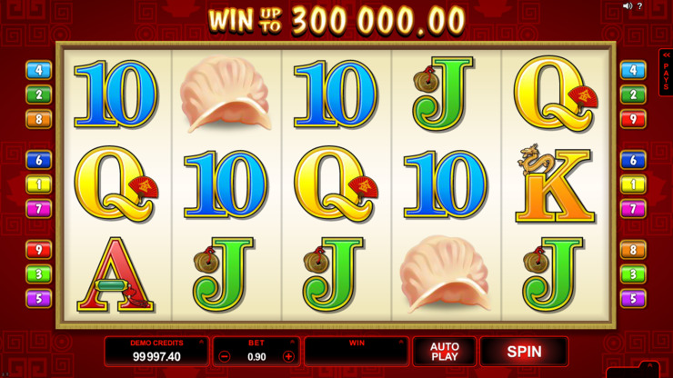 Play free Win Sum Dim Sum slot by Microgaming