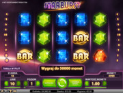 Starburst slot machine review and free play