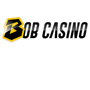 White logo casino Bob